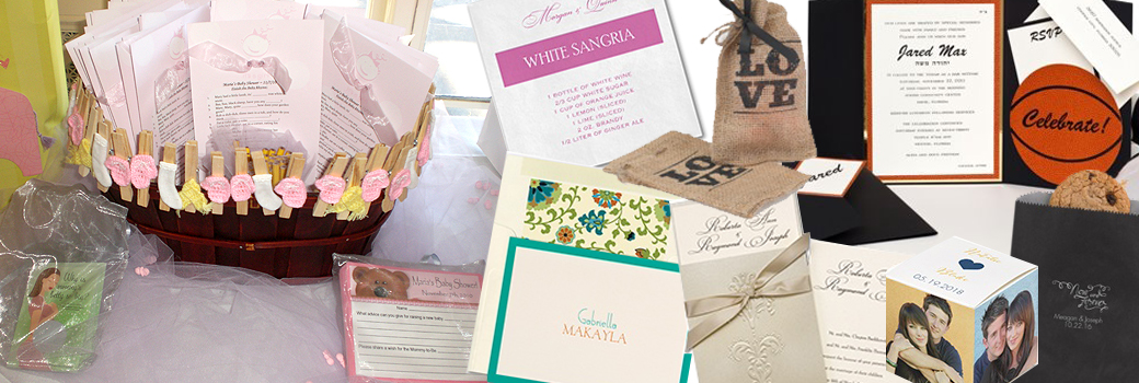Events to Remember Invitations, Announcements, Favors